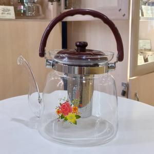 Чайник стеклянный для заваривания чая 2,2 л