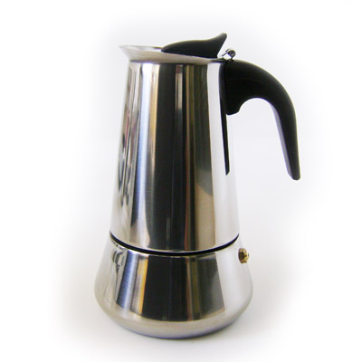 Кофеварка гейзерная средняя на 4 чашки
