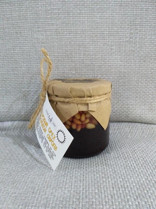 Кедровые орешки в сосновом сиропе, 240 г