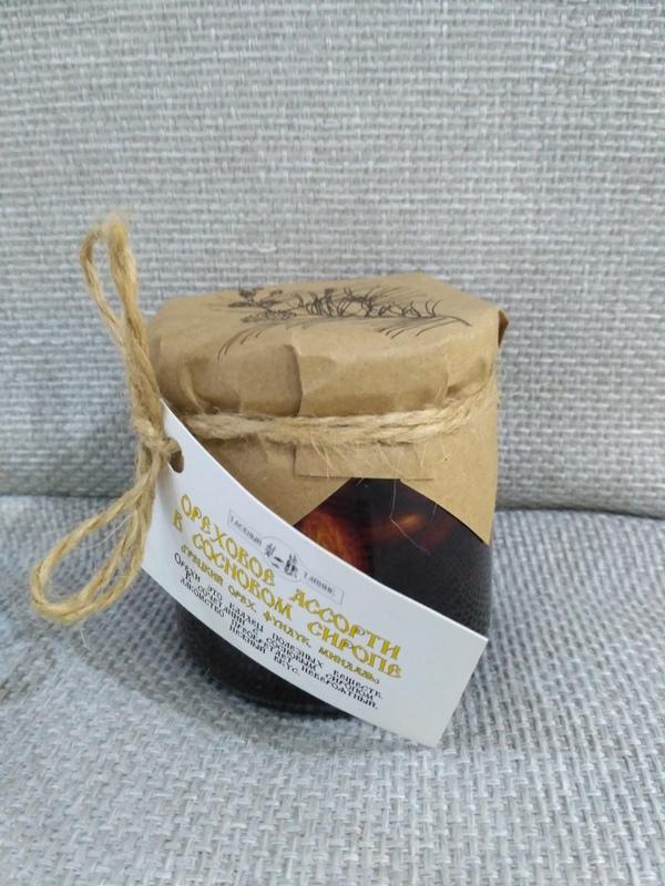 Ореховое ассорти в сосновом сиропе, 240 г