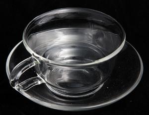 Чашка с блюдцем Закат, 150 мл