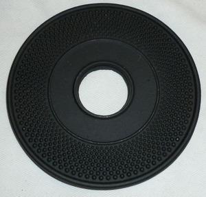 Подставка под чайник чугунная черная