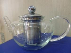 Чайник стеклянный Оазис, 600 мл