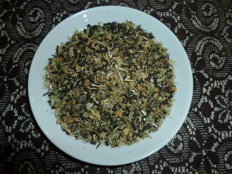 Татарский чай с травами