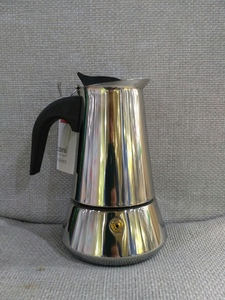 Гейзерная кофеварка для индукционной плиты большая