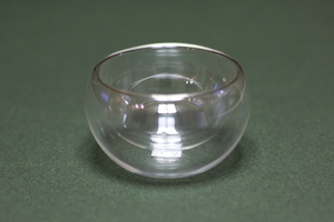 Пиала необжигающая стеклянная 140 мл