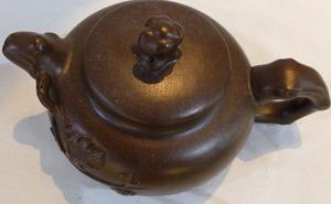 """Чайник украшенный """"Ветка инжира"""", 600 мл"""