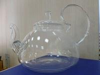 Чайник Лотос 1000 мл стеклянный с ситом в носике